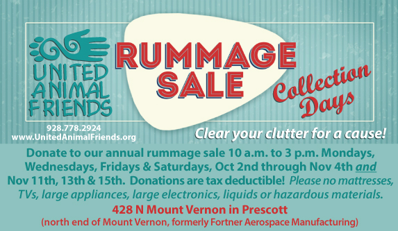 Rummage Donations for web 2019